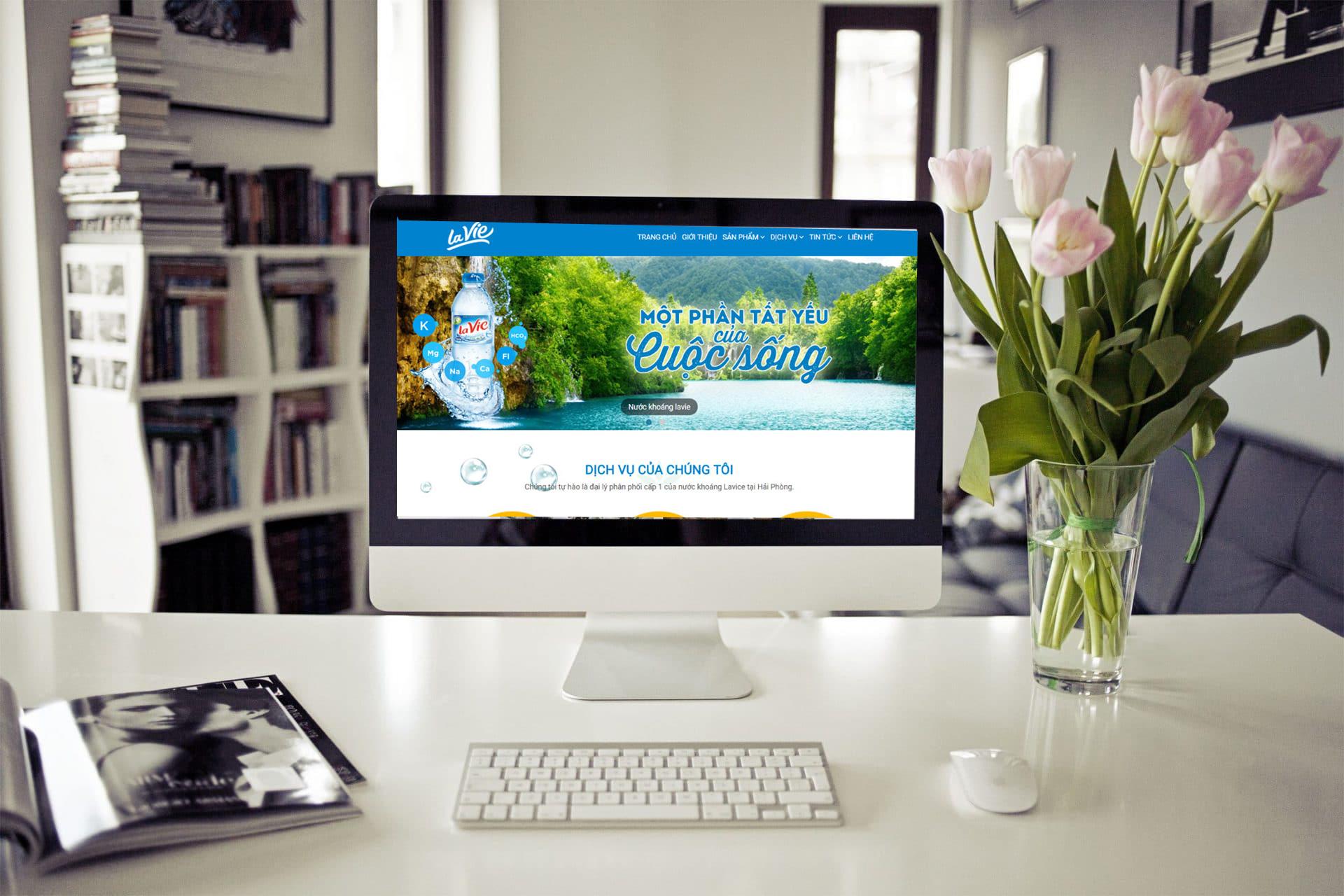 thiết kế web trọn gói giá rẻ tại Hà Nội