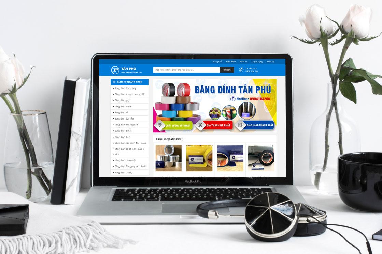 thiết kế web giới thiệu công ty tại Quảng Ninh